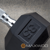 York Rubber Coated Hex Dumbbells (Sold Individually) - Dumbbells - MaxWOD Fitness - 2
