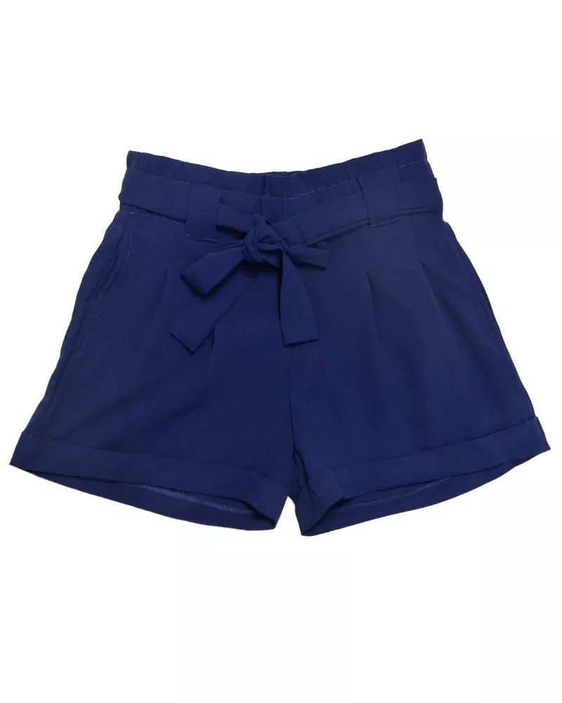 Sash Shorts Navy