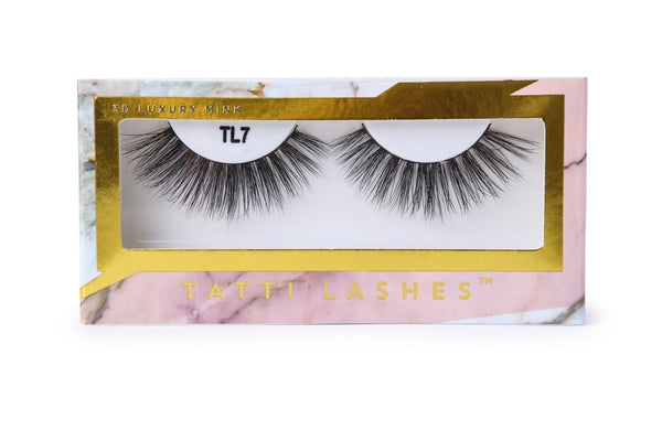 3D Luxury Mink TL7 Tatti Lashes