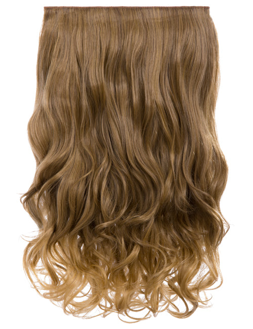 20 inch Curly Synthetic Clip In Hair Extension Piece