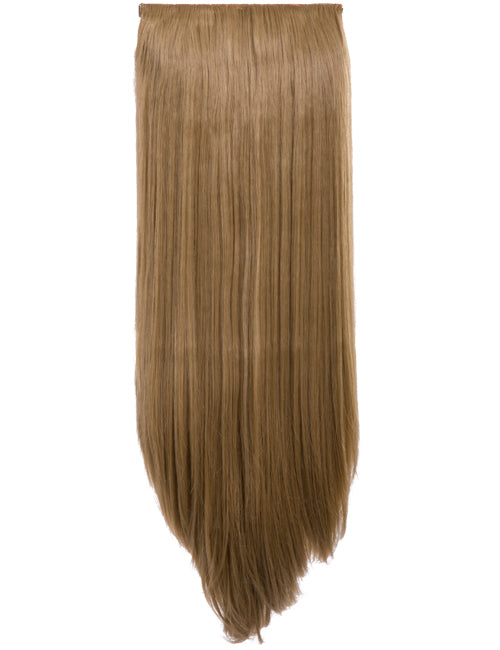 24 inch Straight Synthetic Clip In Hair Extension Piece