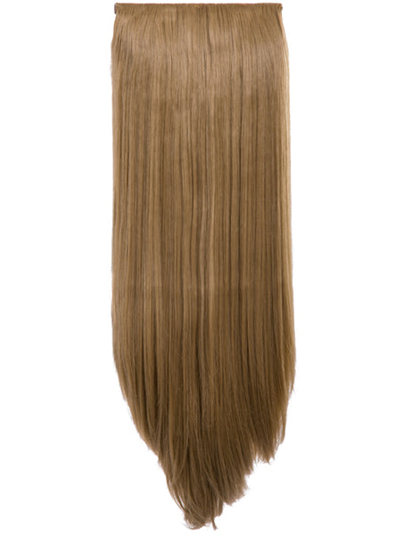 24 inch Straight Synthetic Clip In Extension Piece