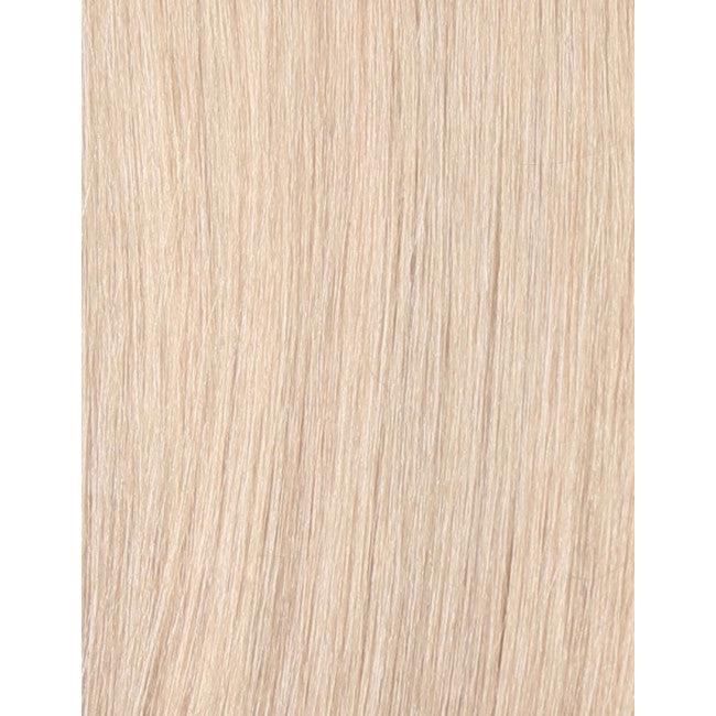 "18"" Beauty Works Deluxe Remy Instant Clip-In Extensions Pure Platinum 60a"