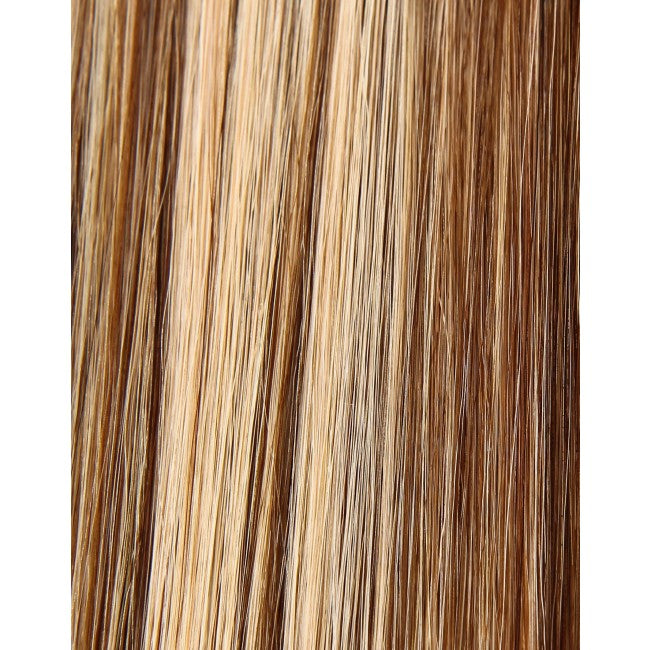 "18"" Beauty Works Deluxe Remy Instant Clip-In Extensions Honey Blonde 6/24"
