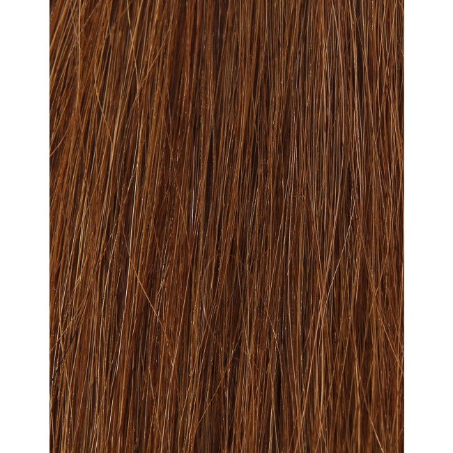 "18"" Beauty Works Deluxe Remy Instant Clip-In Extensions Caramel 6"
