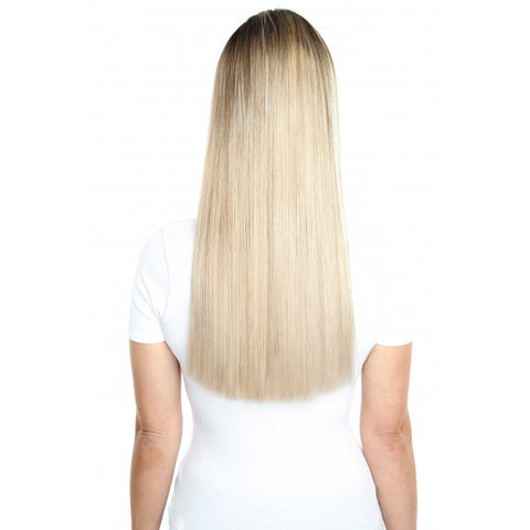 Hair extensions dickeybow boutique 18 beauty works deluxe remy instant clip in extensions california blonde 61316 pmusecretfo Choice Image
