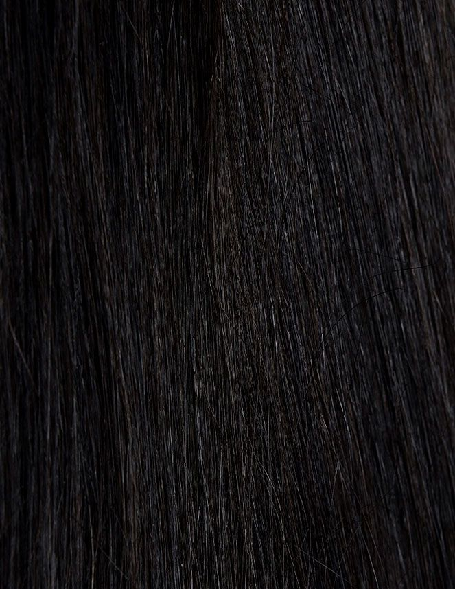 Beauty Works Celebrity Choice - Weft Hair Extensions - Natural black 1A