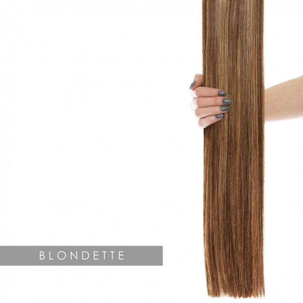 "22"" Celebrity Choice - Weft Hair Extensions - Blondette 4/27"