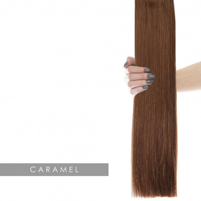 22 Celebrity Choice Weft Hair Extensions Caramel 6 Dickeybow