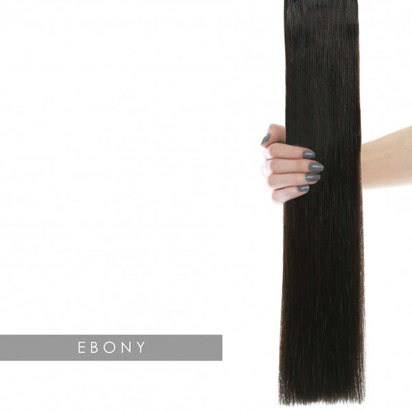 Beauty Works Celebrity Choice - Weft Hair Extensions - Ebony 1b