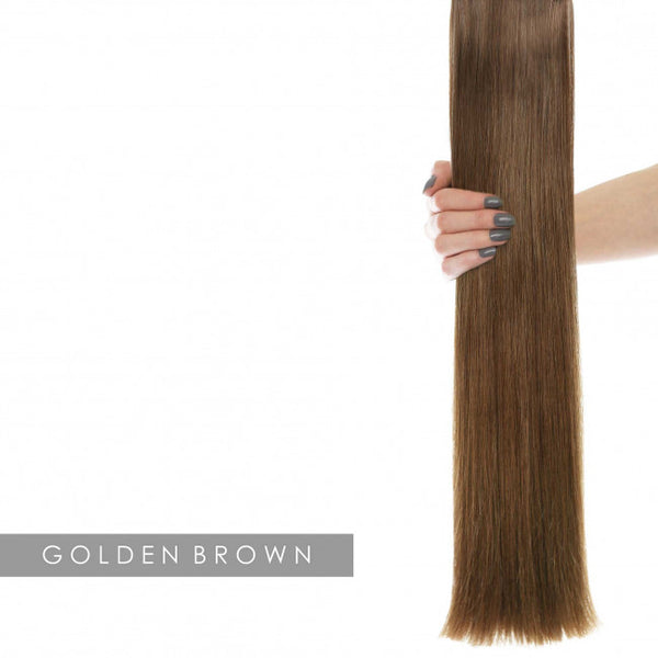 "22"" Celebrity Choice -Weft Hair Extensions - Golden Brown 5"