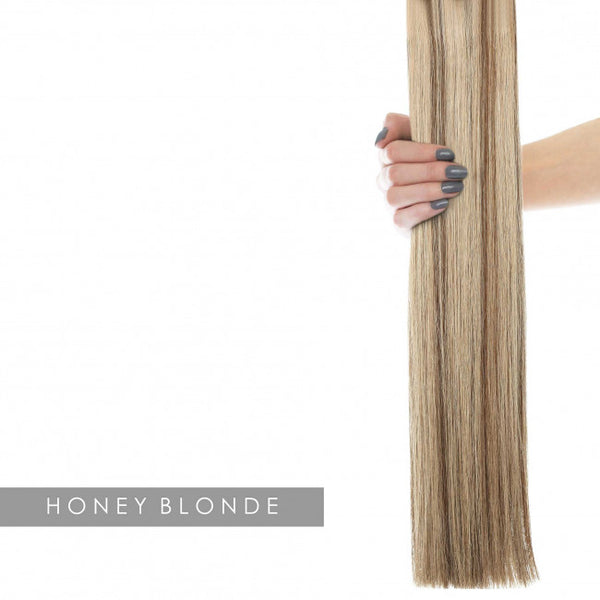 "22"" Celebrity Choice - Weft Hair Extensions - Honey Blonde 6/24"