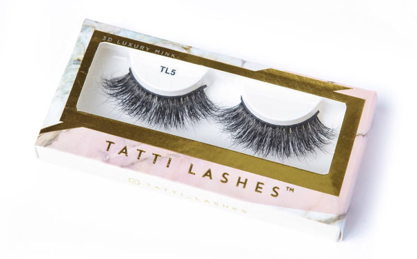 3D Luxury Mink TL5 Tatti Lashes
