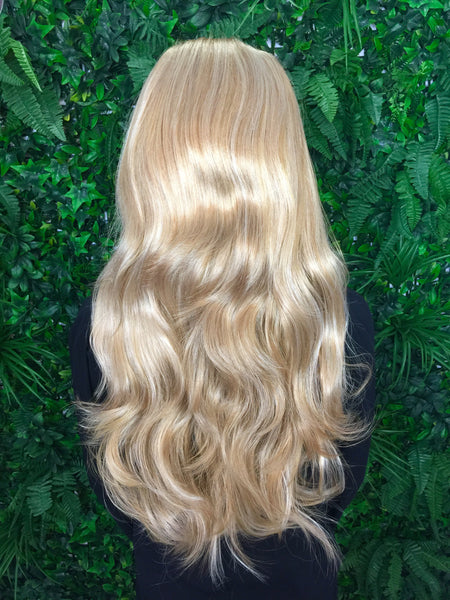 Honey Blonde Hannah 3/4 Synthetic Hair Piece