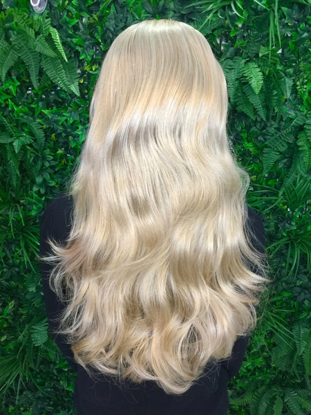 Golden Blonde Hannah 3/4 Synthetic Hair Piece