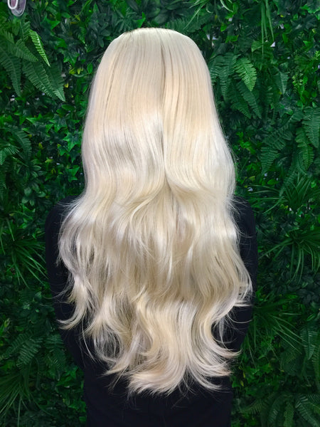 Pure Blonde Hannah 3/4 Synthetic Hair Piece