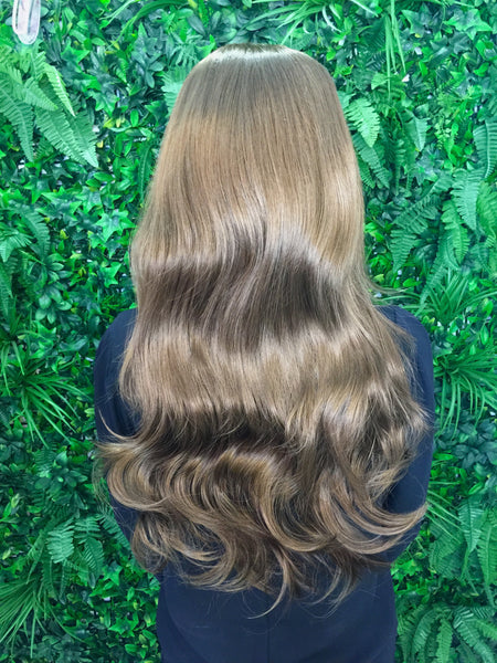 Chestnut Brown Hannah 3/4 Synthetic Hair Piece