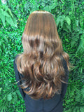 Honey Brown Hannah 3/4 Synthetic Hair Piece