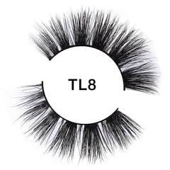 3D Luxury Mink TL8 Tatti Lashes