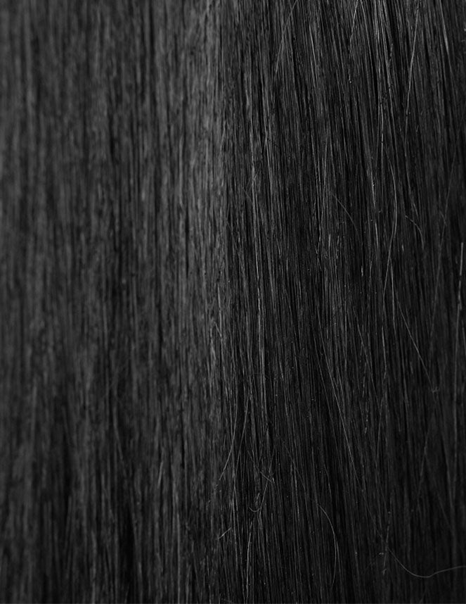 Beauty Works Celebrity Choice - Weft Hair Extensions - Jet Set Black 1