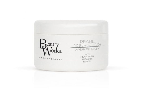 Beauty Works Pearl Nourishing Argan Oil Mask 250ml