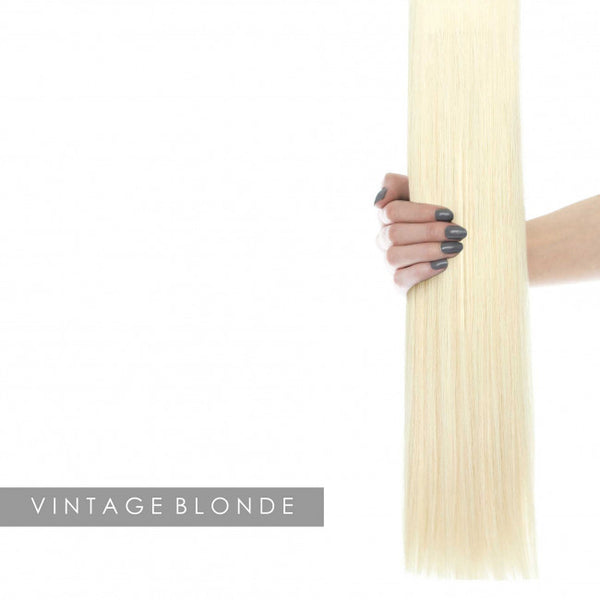 "22"" Celebrity Choice - Weft Hair Extensions - Vintage Blonde 60"