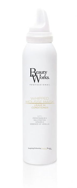 Beauty Works Whipped Mousse Mask Leave In Conditioner 200ml