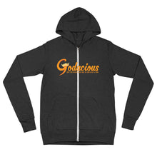 Load image into Gallery viewer, Godacious Logo Zip-Up Hoodie
