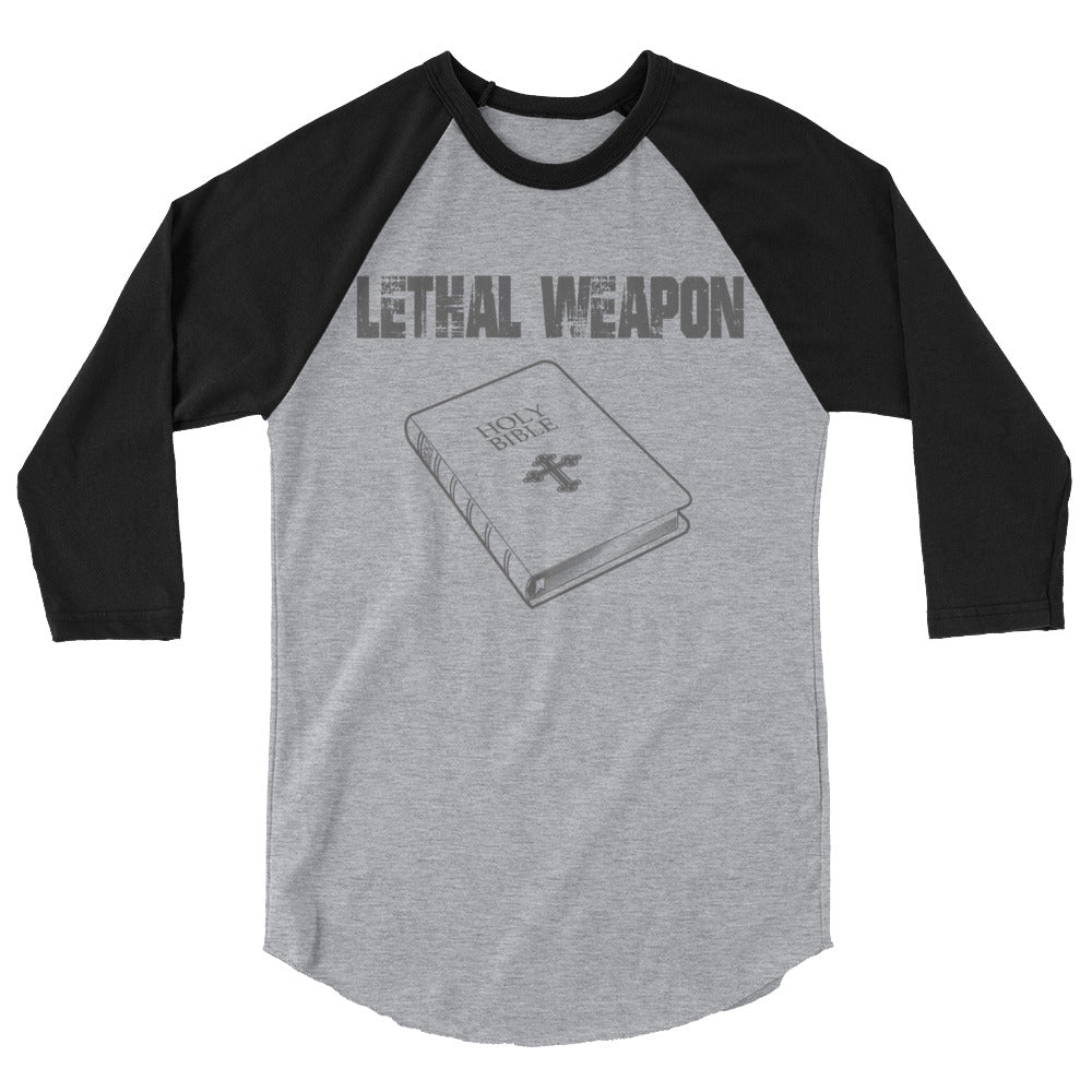 Lethal Weapon Bible 3/4 sleeve shirt