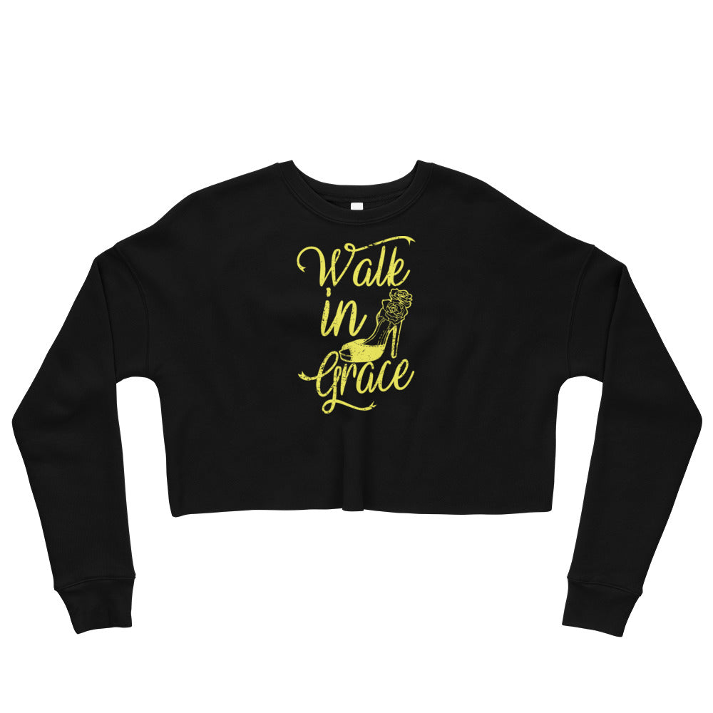 Walk in Grace - Crop Sweatshirt