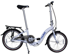 "Cesy - SOLOROCK 20"" 3 Speed IHG Aluminum Folding Bike"