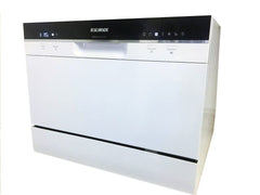 SoloRock 6 Settings Countertop Dishwasher - White