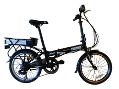 "Hunter eBike - SOLOROCK 20"" 8 Speed Aluminum Folding eBik"