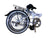 "Hunter - SOLOROCK 20""  Upgraded Single Speed Steel Folding Bike"
