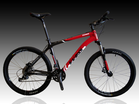 SOLOROCK Carbon Fibre Mountain Bike - Frontier20