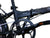 "Hunter - SOLOROCK 16"" 3 Speed IHG Aluminum Folding Bike"