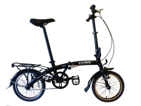 "Dash - SOLOROCK 16"" Single Speed Aluminum Folding Bike"