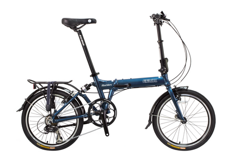 "Rockies - SOLOROCK 20"" 8 Speed Aluminum Folding Bike - V Brakes"