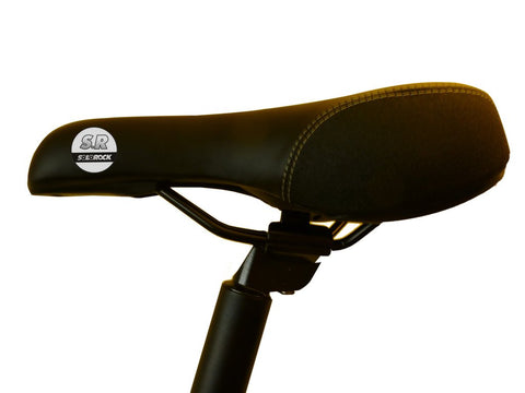 Seat Post with Saddle - Extended Length SoloRock Folding Bike