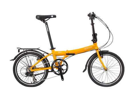 "Tides - SoloRock 20"" 7 Speed Aluminum Folding Bike"