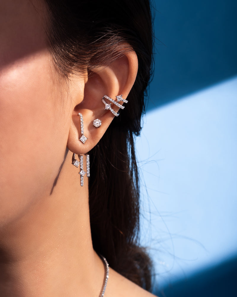 JASMIN Diamond Ear Cuff  MDL-SOS EC-08