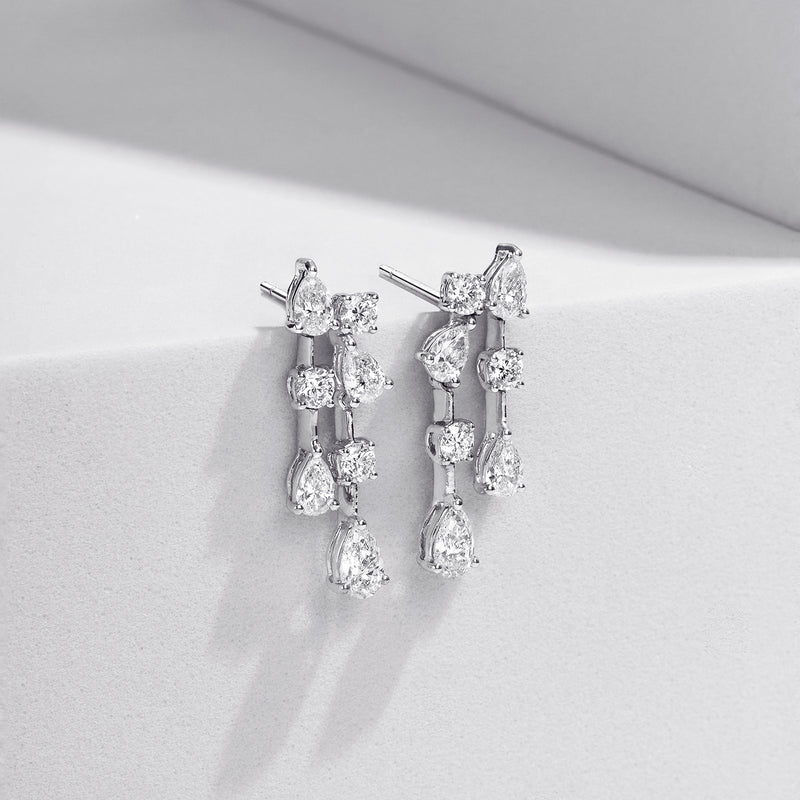 JASMIN Diamond Earrings MDL E-02
