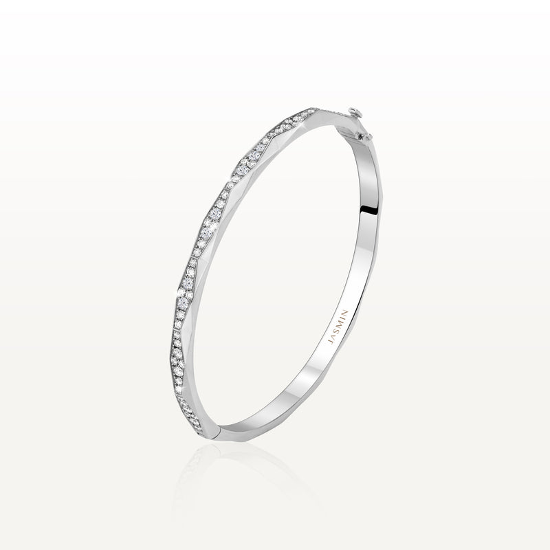 The Facet Diamond Bangle TF-B10