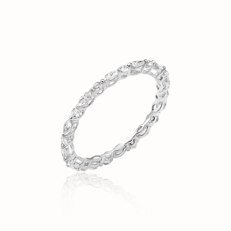 Brilliant Love Diamond Wedding Band