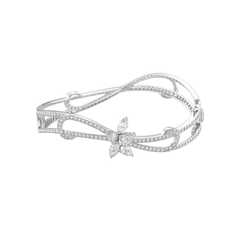 Fundamental / White Gold Bangle FUN-B01