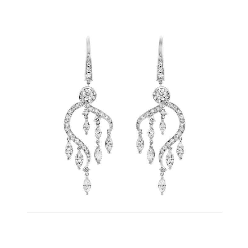 Fundamental / White Gold Earrings FUN-E01