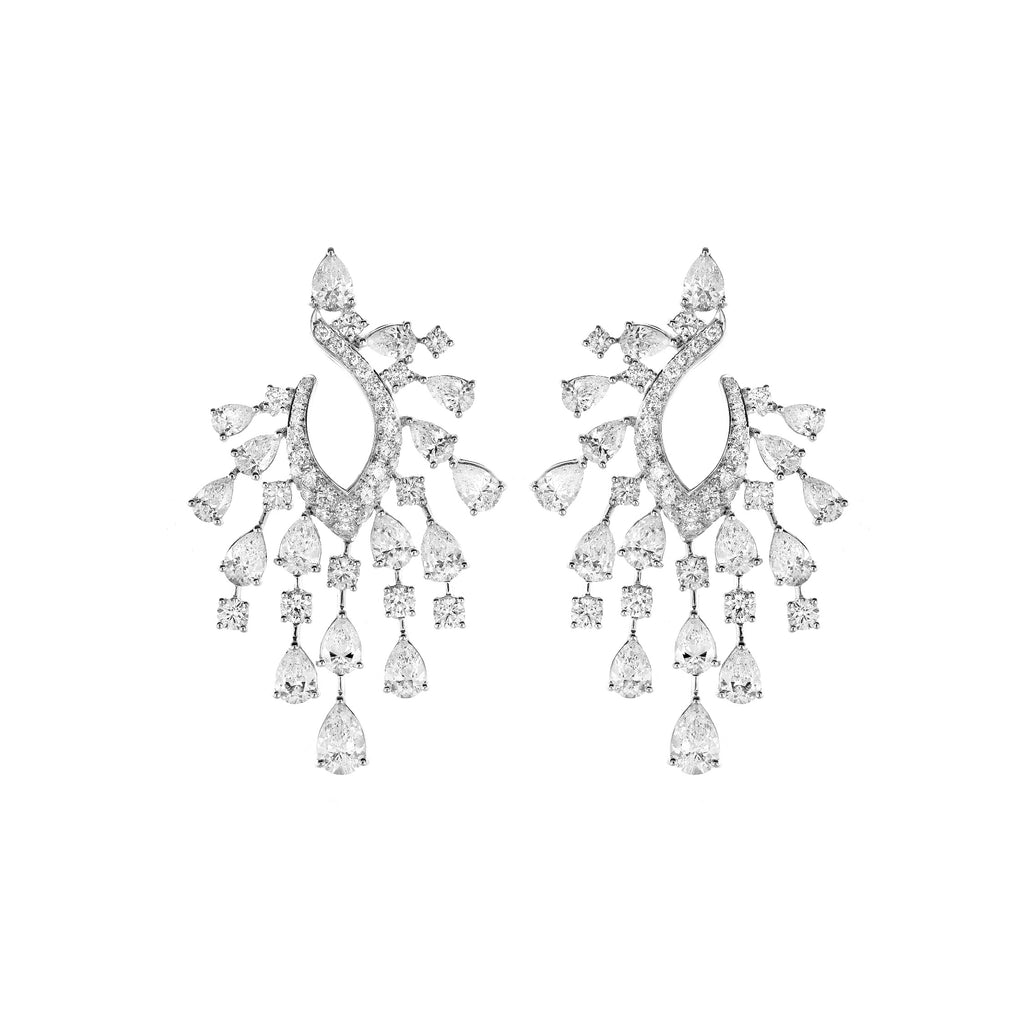 Fundamental / White Gold Earrings FUN-E03