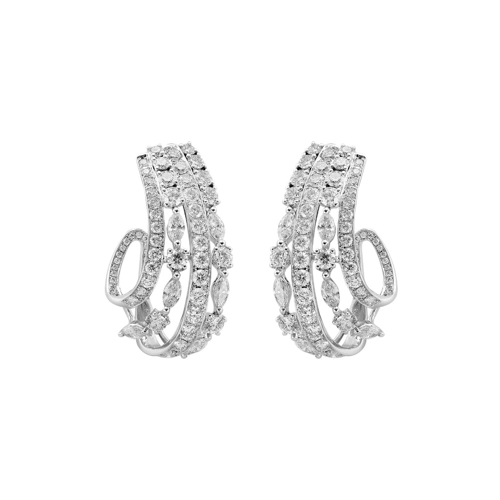 Fundamental / White Gold Earrings FUN-E04