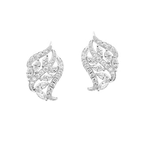 Fundamental / White Gold Earrings FUN-E05