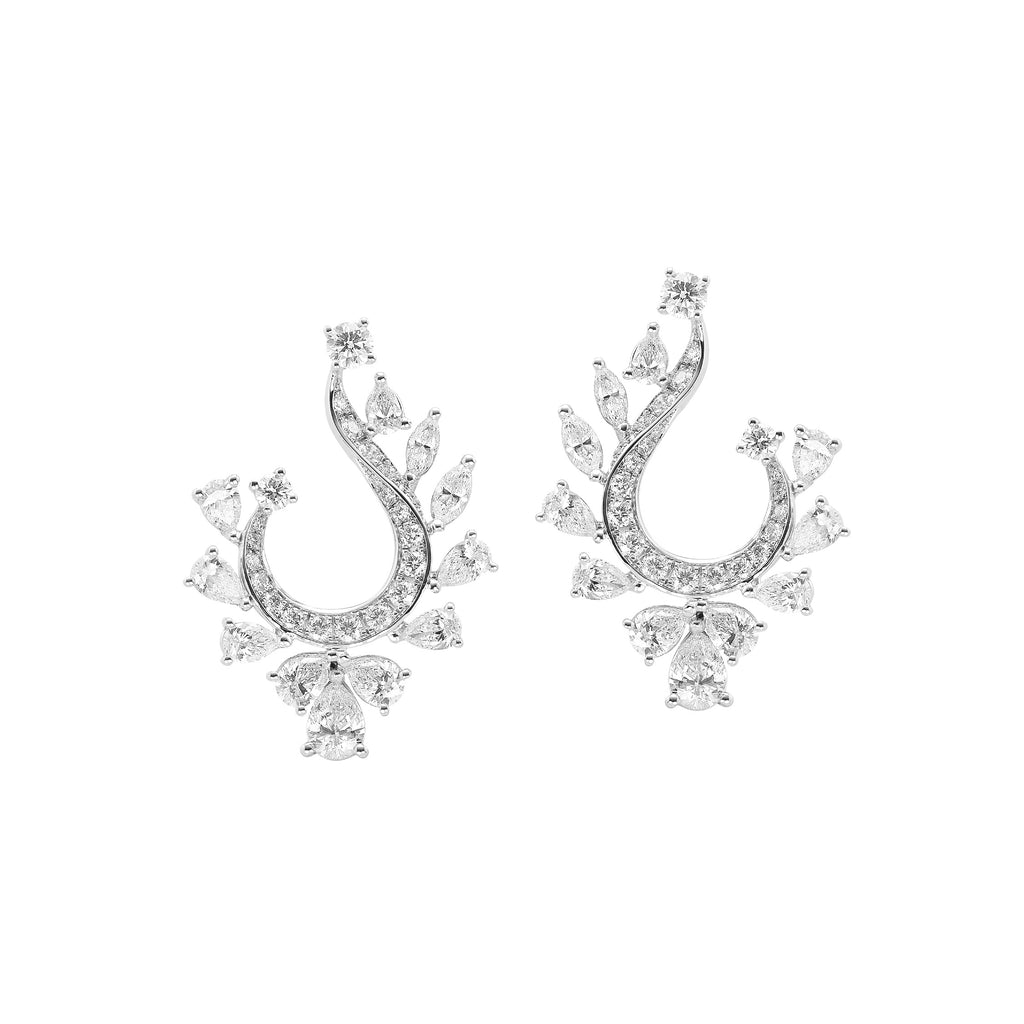 Fundamental / White Gold Earrings FUN-E06
